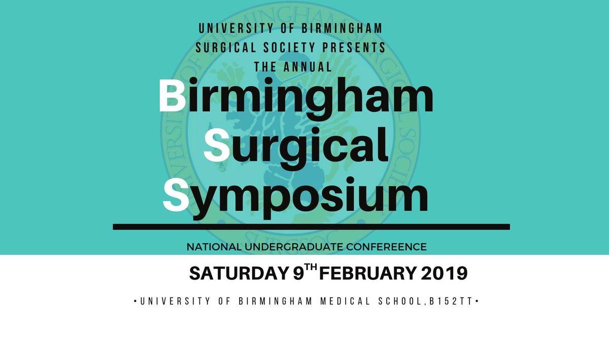 Birmingham Surgical Symposium 2019