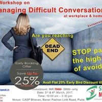 Managing Difficult Conversations at workplace and home