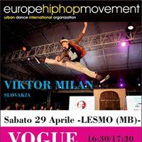 Waack &amp Vogue workshop Milano