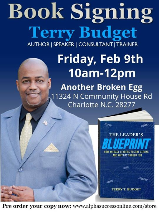 The leaders blueprint book signing w author terry budget at the leaders blueprint book signing w author terry budget malvernweather