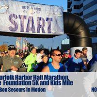 Norfolk Harbor Half Marathon 5K and Kids Mile