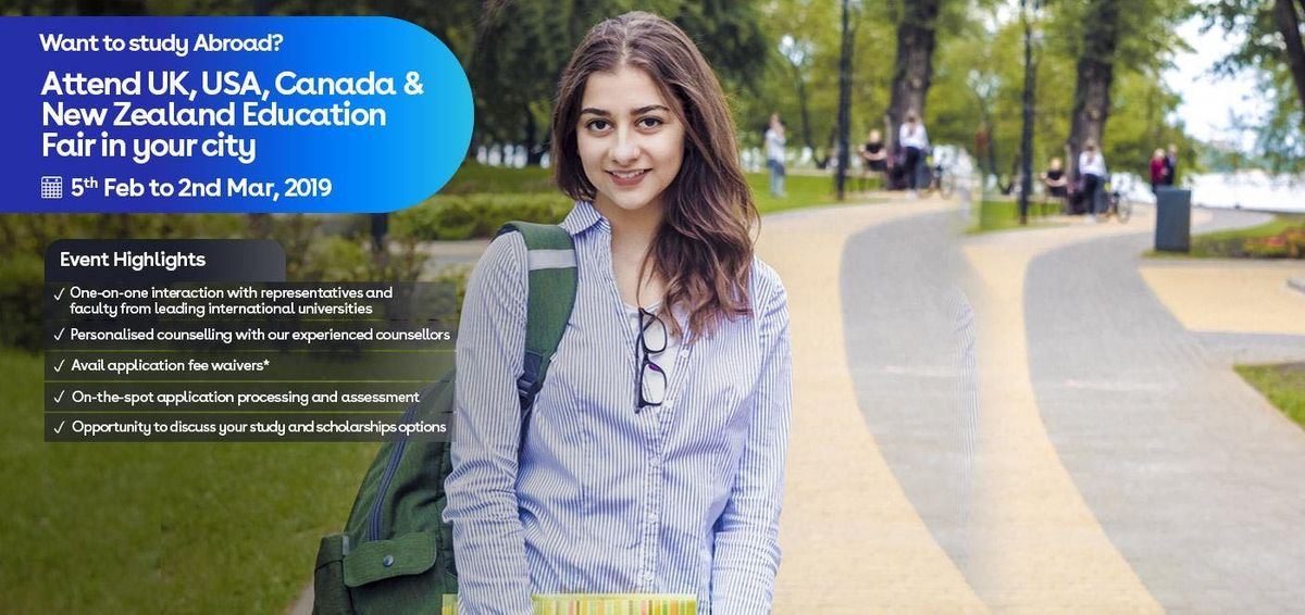 Study in UK- Attend IDPs FREE Education Fair in Ahmedabad (19 Feb 2019)