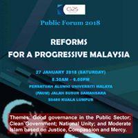 Reforms for a Progressive Malaysia