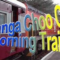 Morning Diesel Train