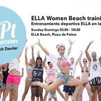 Ella Beach Training - Entrenamiento deportivo Ella en la playa