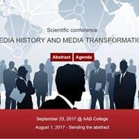 ICCMS 2017 Historia e medias dhe transformimet mediatike