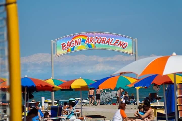 Country on the beach bagni arcobaleno at bagni arcobaleno sas