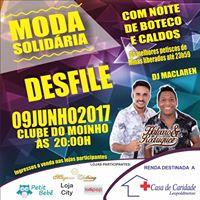 MODA SOLIDRIA COM NOITE DE BOTECO E CALDOS