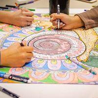Readers Palooza Mandala Art