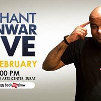 Nishant Tanwar Live - Surat