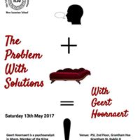 The Problem With Solutions - Seminar with Geert Hoornaert