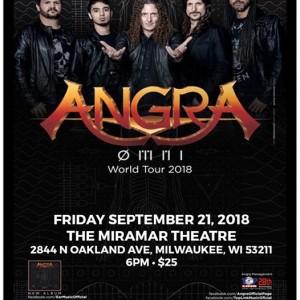 Angra - MNI World Tour at The Miramar Theatre
