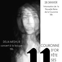 Concert Delia pour les 11 ans de la Couronne dOr