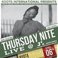 Nyota Ndogo In Concert Thursday Nite Live at Js Westlands