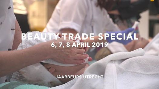 Deelname aan Beauty Trade Special Utrecht 6 tm 8 april