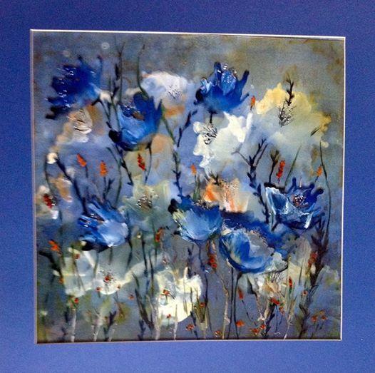 Encaustic Art with Stitch - Tutor Sue Tyldesley