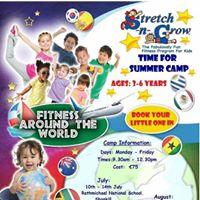 Stretch N Grow Summer Camp 2017 - kilternan