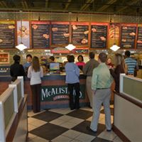 Dinner Relationship Discussion at McAlisters Deli