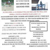 D-TALK RANCH COWBOY HORSEMSNSHIP RACE