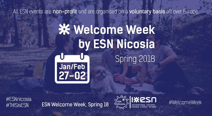 ESN Welcome Week Erasmus Spring 18
