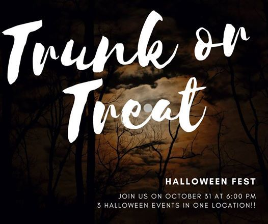 2018 trunk or treat halloweenfest