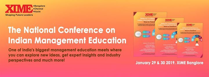 The National Conference on Indian Management Education