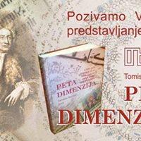 Predstavljanje knjige &quotPeta dimenzija&quot