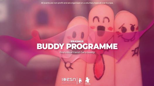 Erasmus Buddy for IPC and ISMT 20182019 by ESN Coimbra