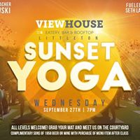 Free Sunset Yoga W Outlaw Yoga