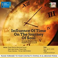 Gita Life Influence Of Time On The Journey Of Soul at Powai