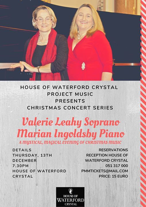 Valerie and Marian Christmas Soiree