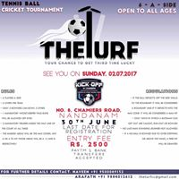 The Turfs Gully Cricket Tournament (6-overs)