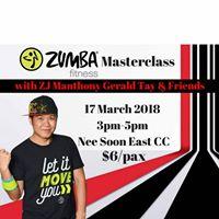 Zumba Fitness Masterclass With ZJ Gerald Tay &amp Friends