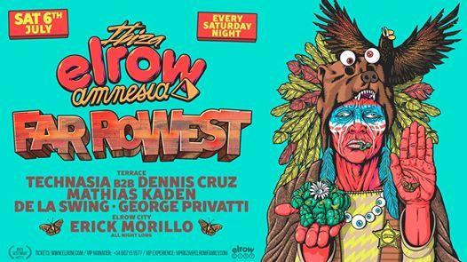 Elrow Ibiza - 6th July - Far Rowest