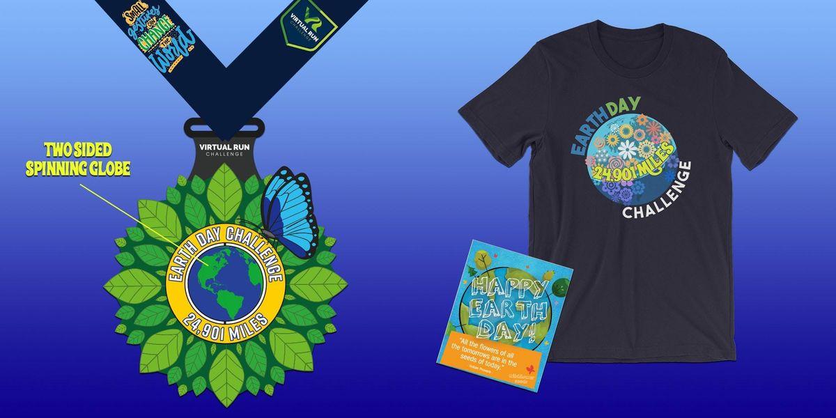 2019 Earth Day 24901 Mile RunWalk Challenge - Baltimore