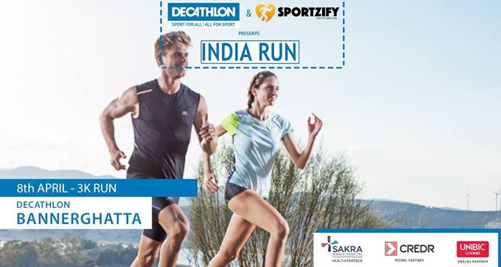 Decathlon India Run - Bannerghatta