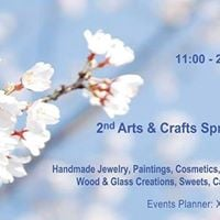 2nd Arts &amp Crafts Spring Exhibition 2018