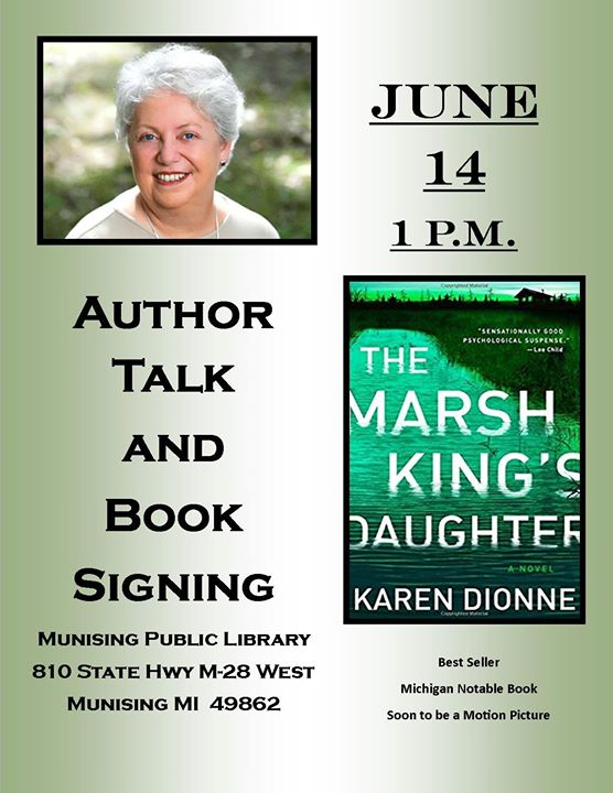 The Marsh Kings Daughter Author Talk Book Signing