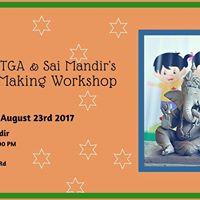 TTGA &amp Sai Mandirs - Ganesh Making Workshop for Kids