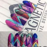 Geometric Gel Designs