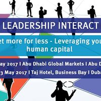 Leadership Interact Leverage your human capital