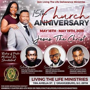 Church Anniversary for Victory Temple Deliverance Center events in
