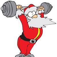 Barbell Santa