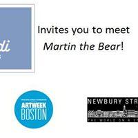 Meet Martin the Bear at Jacadi