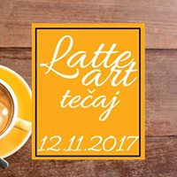 Latte Art teaj