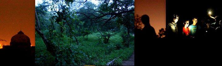 --  Night Walk in Oldest Jungles of Delhi Mehrauli
