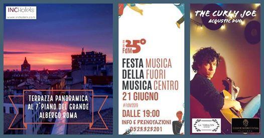 Festa Della Musica 21 06 Terrazza Del Grande Albergo