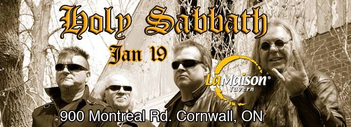 Holy Sabbath Cornwall Ontario.