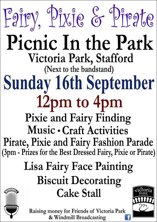 Fairies Pixies & Pirates Picnic In The Park New Date