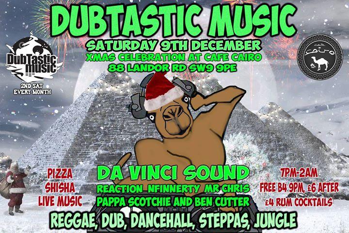 DubTastic Music & Da Vinci Sound Xmas Celebration